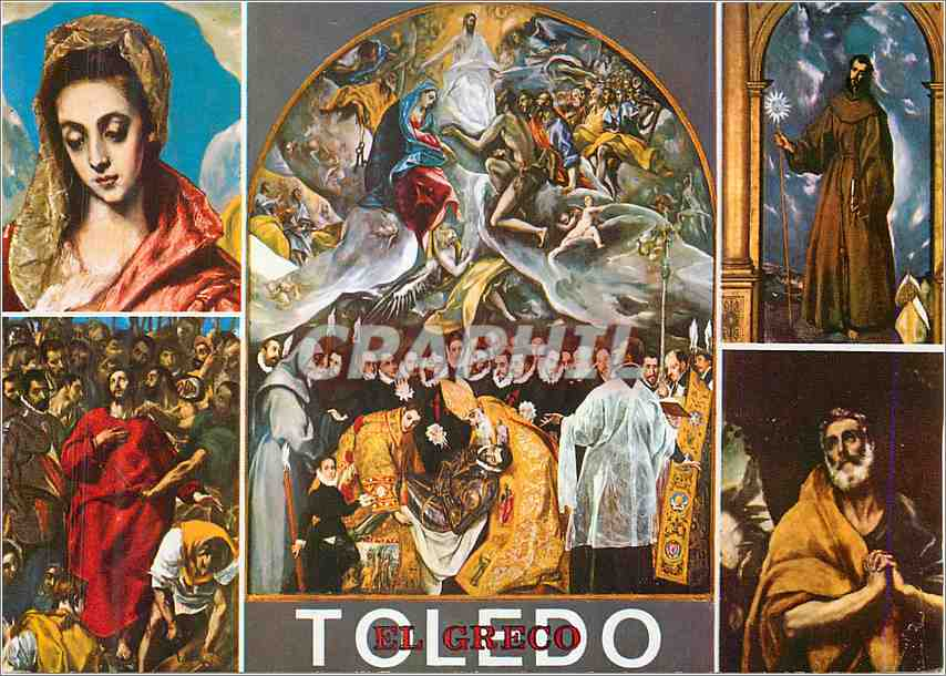Moderne Karte Toledo El Greco 0