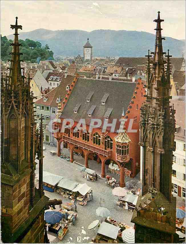 Moderne Karte Freiburg in breisgau 0