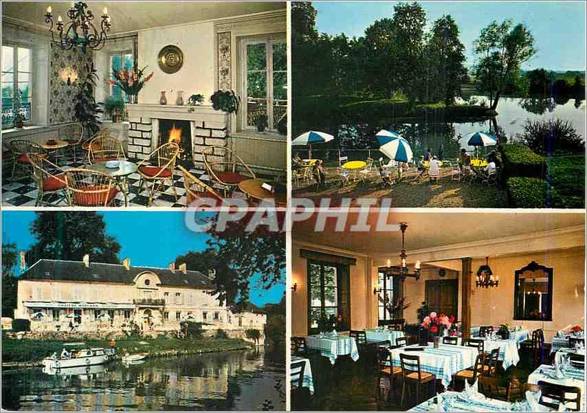 Moderne Karte Chateau Marysien Hotel Restaurant Mary sur Marne 0