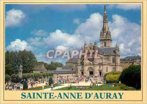 Moderne Karte Couleurs de Bretagne Sainte Anne d'Auray La basilique Sainte Anne