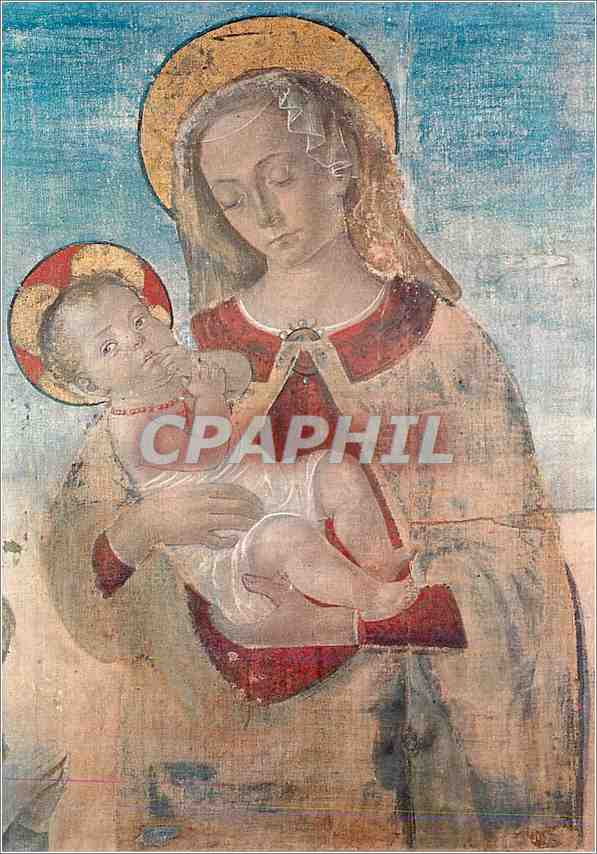 Moderne Karte Urbino Palazzo Ducale Vierge a l'enfant 0