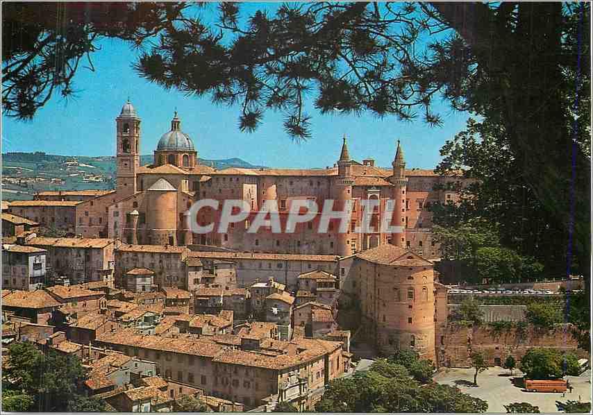 Moderne Karte Urbino Panorama 0