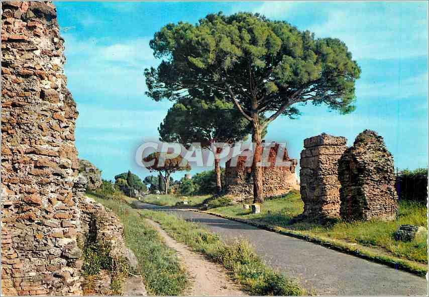 Moderne Karte Roma Rue Appla Antica 0