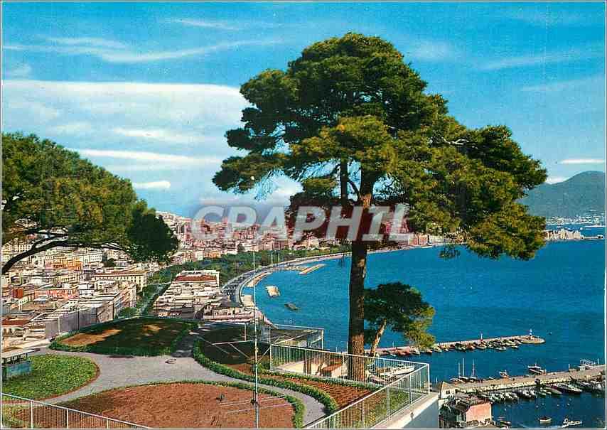 Moderne Karte Napoli Panorama 0