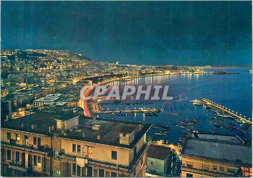 Moderne Karte Napoli Le Quai de nuit 0