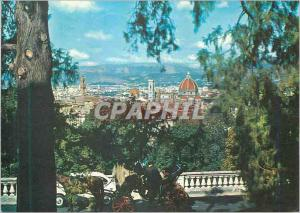 Moderne Karte Firenze Une vue de S Mininto al Monte