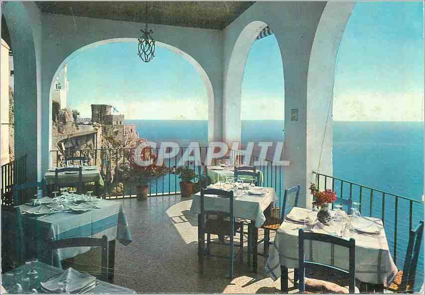 Moderne Karte Amalfi Une terrasse de l'Hotel Riviere 0