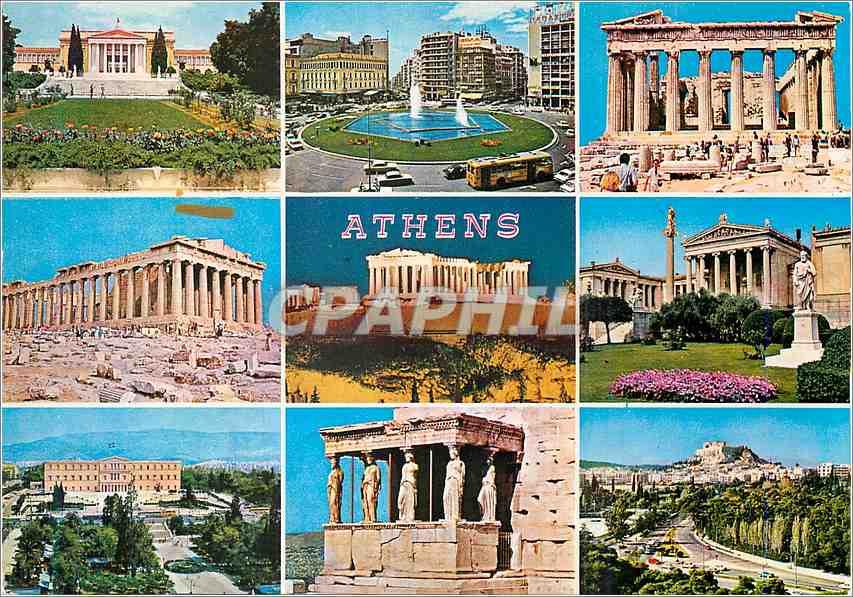 Moderne Karte Athens 0