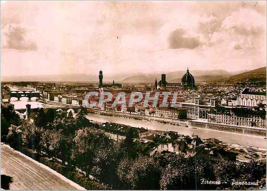 Moderne Karte Firenze Panorama 0