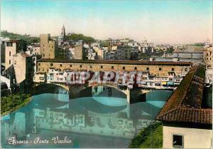 Moderne Karte Firenze Ponte Vecchio Florence Le Vieux Pont