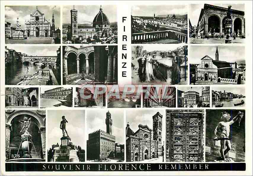 Moderne Karte Firenze 0