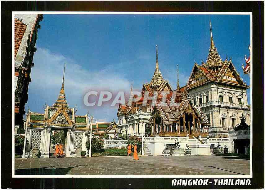 Moderne Karte Bangkok Thailand 0
