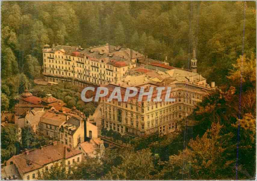 Moderne Karte Karlovy Vary Hotel Cedok Moskva 0