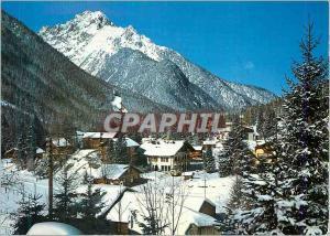 Moderne Karte Station de Champex Valais