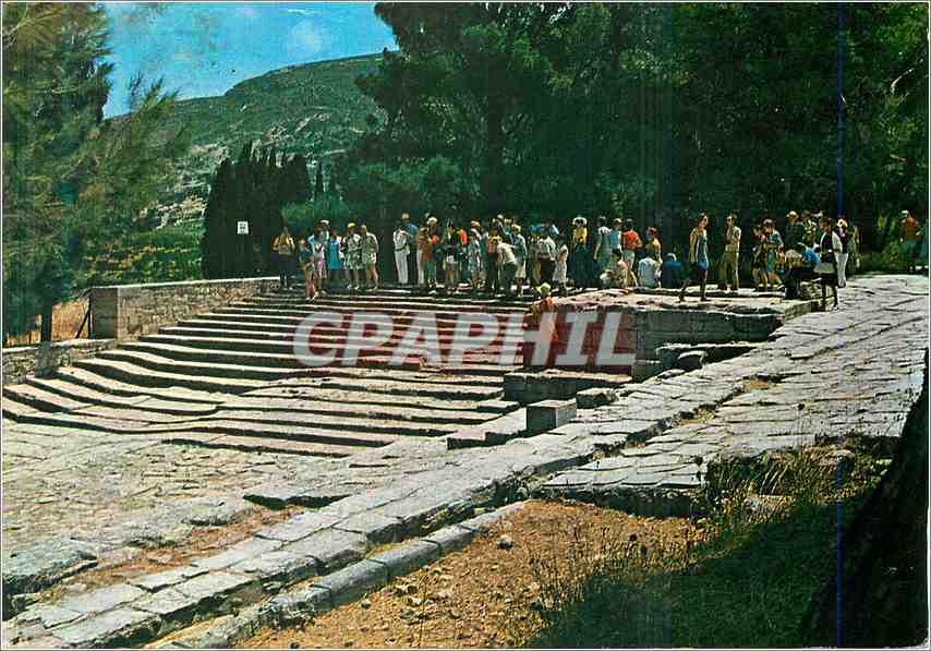 Moderne Karte Cnossos Le Theatre 0