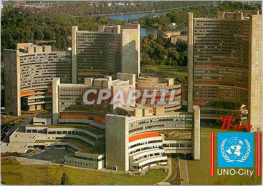 Moderne Karte Vienne Int Centre 0