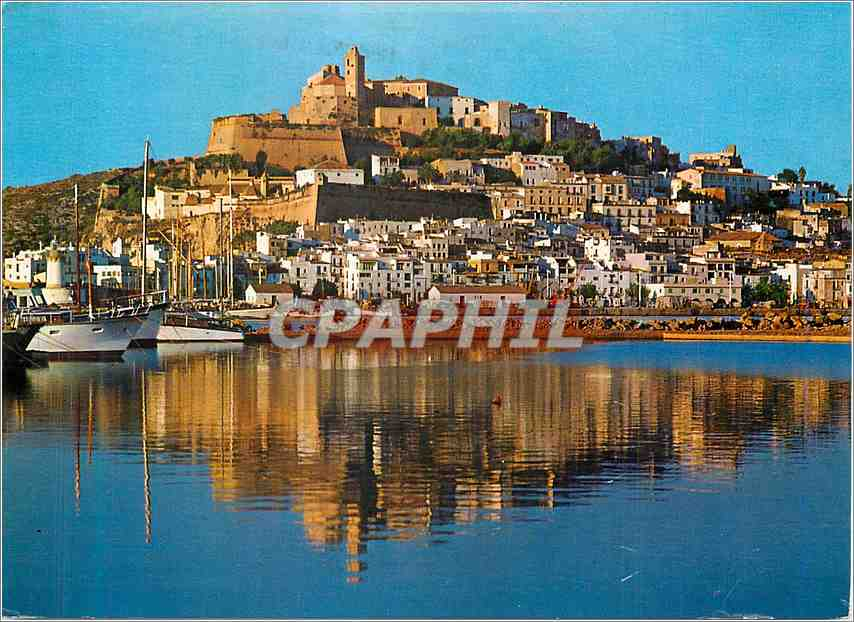 Moderne Karte Ibiza Vista General 0