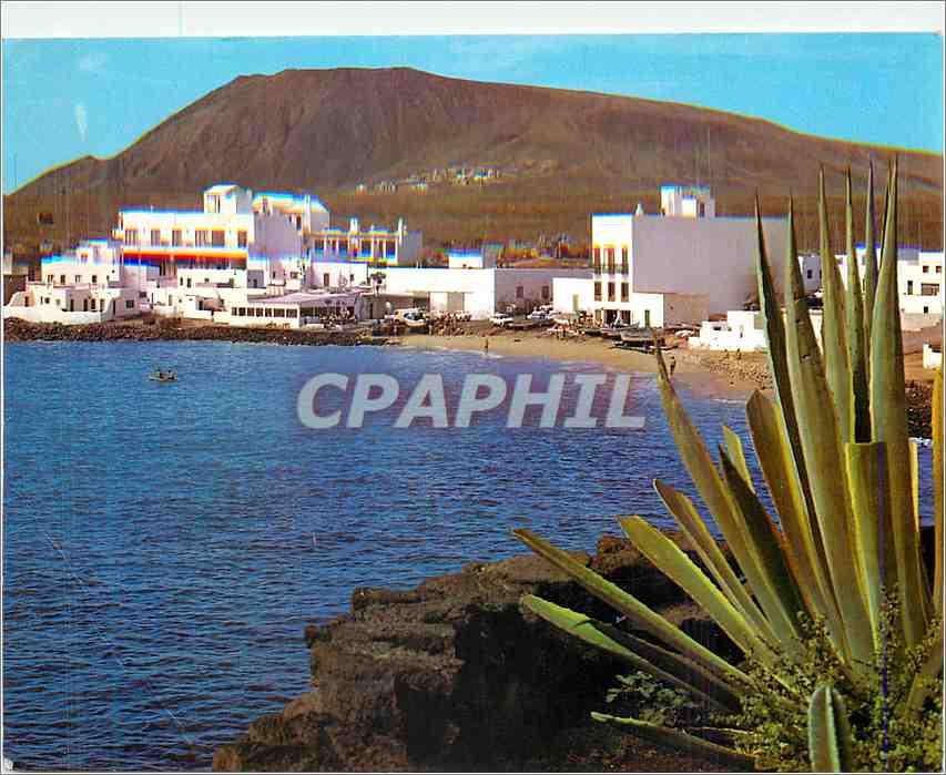 Moderne Karte Lanzarote Playa Blanca Pueblo 0