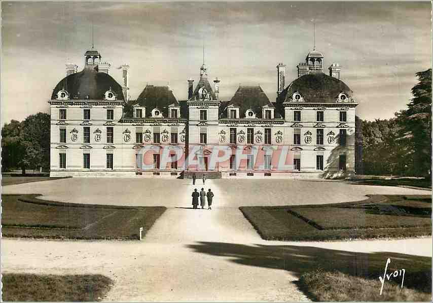 Moderne Karte Chateau de Cheverny (Loir et Cher) 0