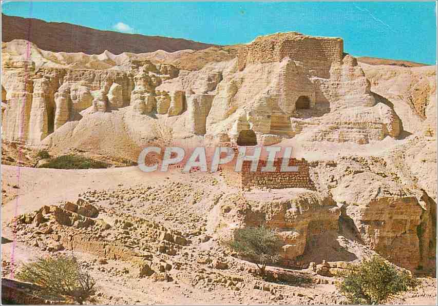 Moderne Karte Zohar Citadel Judean Desert Israel 0