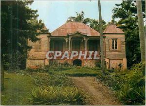 Moderne Karte Noumea d'hier Maison Coloniale