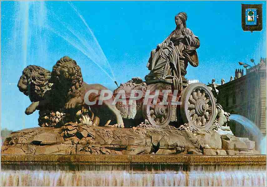 Moderne Karte Madrid La Cibelos Lion 0