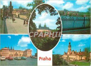 Moderne Karte Praga souvenirs de Prague
