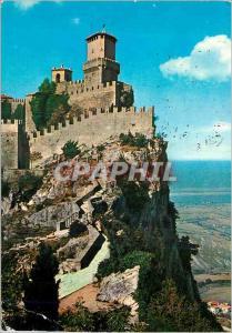 Moderne Karte Repubblica di San Marino Premiere Tour et Panorama