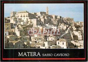 Moderne Karte Matera Sasso Caveoso