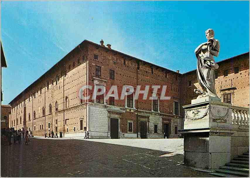 Moderne Karte Urbino Place Duc Federico et Palais Ducal 0