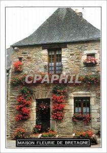 Moderne Karte Maison fleurie de Bretagne