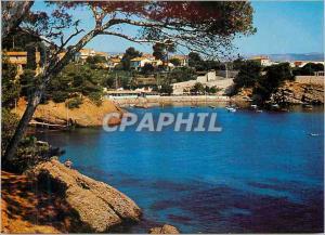 Moderne Karte Lumiere et beaute de la cote d'Azur La Ciotat Calanque et Plage Mugel