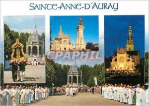 Moderne Karte Sainte Anne D'Auray La Procession du pardon a sainte Anne (26 juillet)Devant la basilique et le