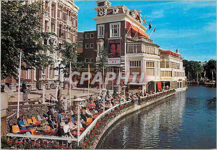Moderne Karte Amsterdam Lido 0