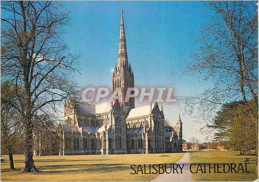 Moderne Karte Salisbury Cathedral 0
