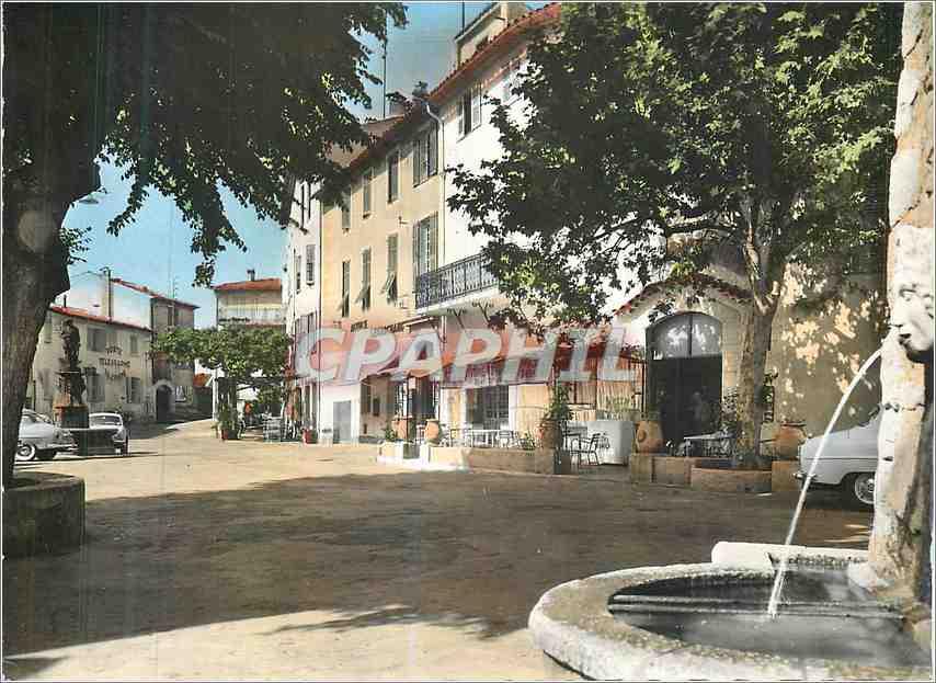 Moderne Karte Mougins (A M)Place de la Mairie 0