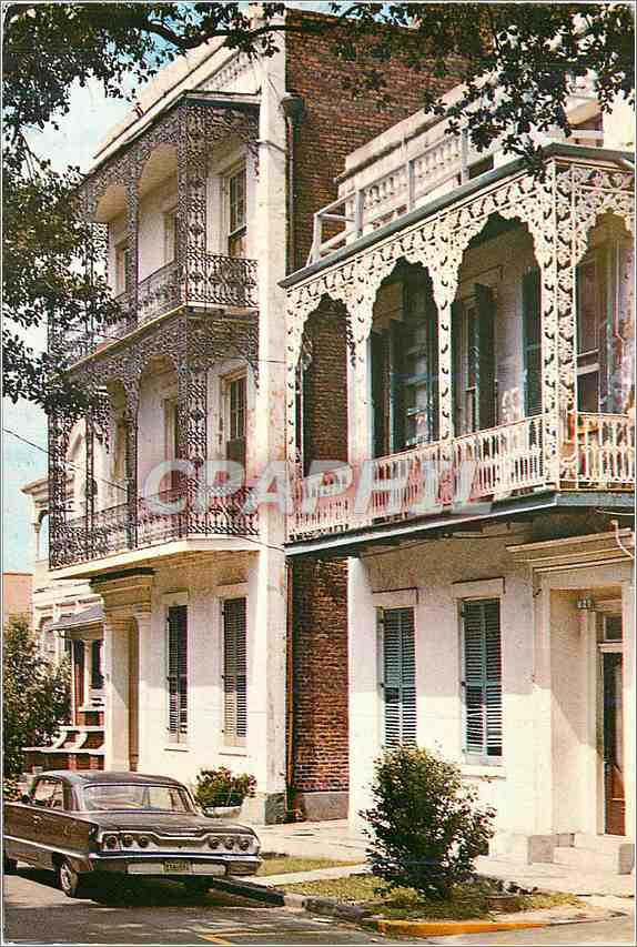 Moderne Karte Ante Bellum Homes New Orleans 0
