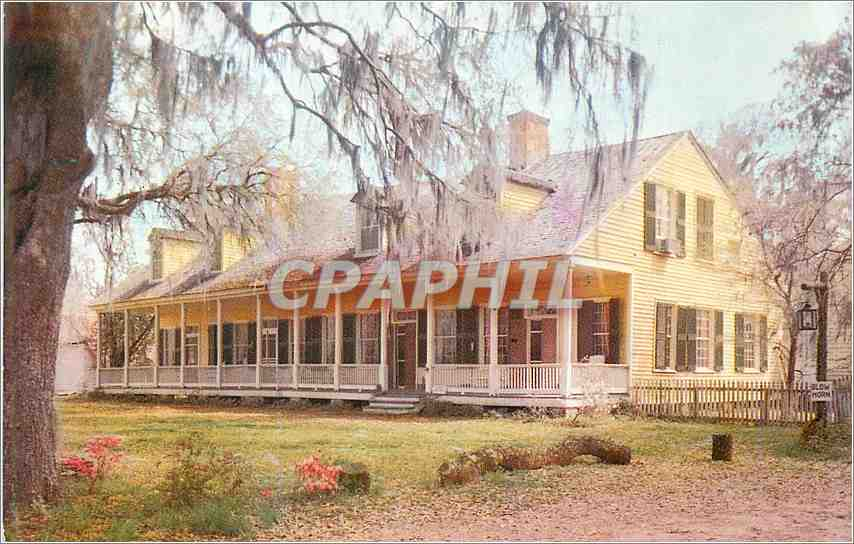 Moderne Karte The Cottage Plantation St Francisville Louisiana 0