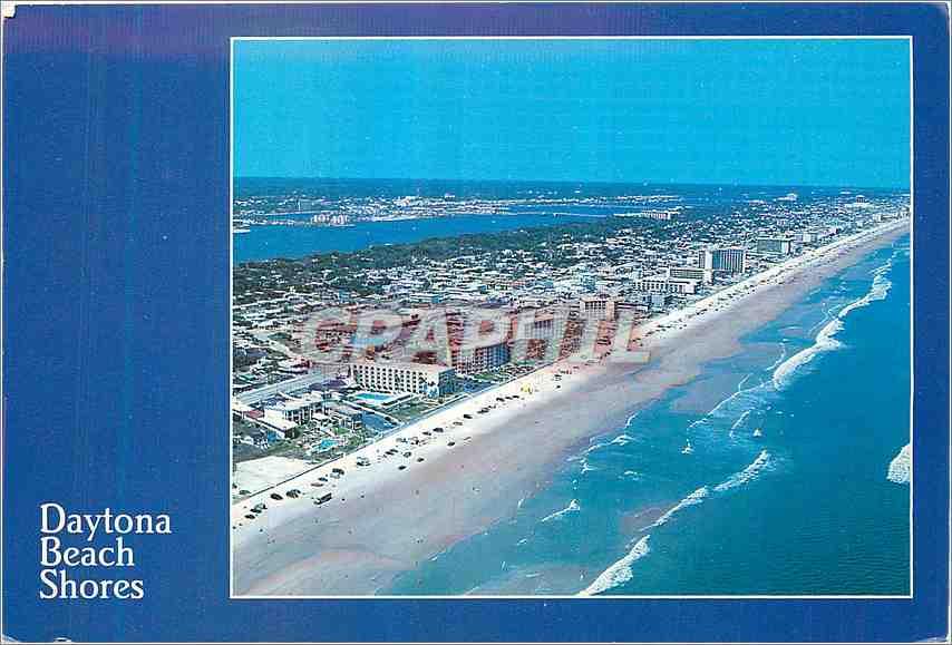 Moderne Karte Hi from Daytona Beach Shores Florida 0
