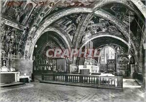 Moderne Karte Assisi Basilique inferieure de St Francois Croisade et Altar principale