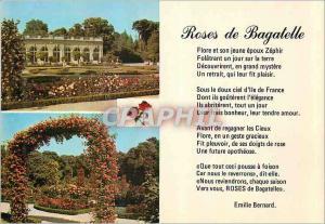 Moderne Karte Parc de Bagatelle L'Orangerie La Roseraie