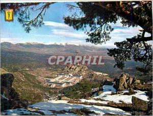 Moderne Karte Santa Cruz del Valle de Los Caidos