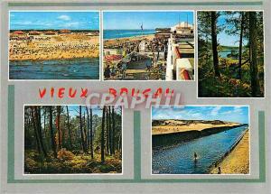 Moderne Karte Vieux Boucau (Landes)La plage