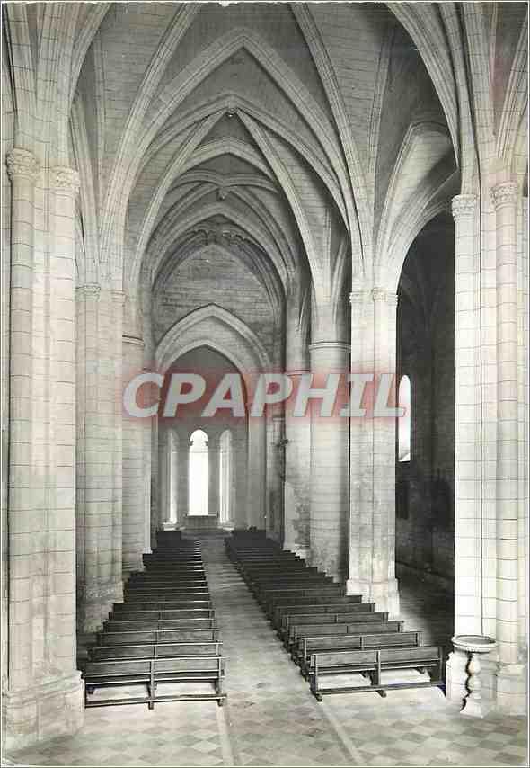 Moderne Karte Guitres (Gironde)Interieur de l'Eglise Notre Dame (Roman et Gothique des XII et XVIII s) 0