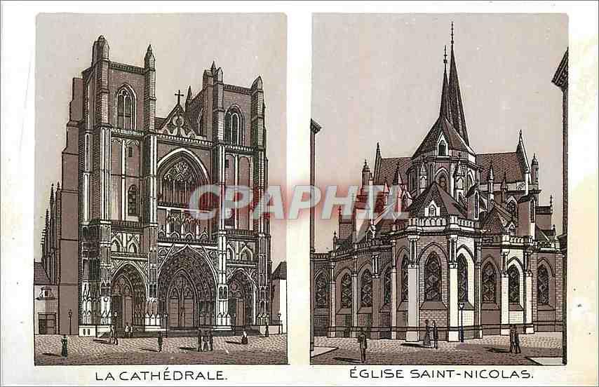 Ansichtskarte AK La Cathedrale Eglise Saint Nicolas 0