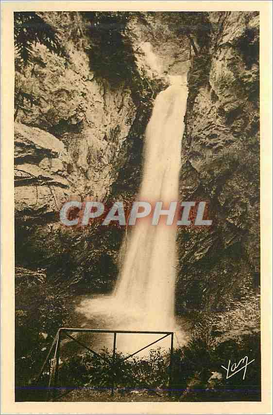 Ansichtskarte AK Les Pyrenees Du Tourmalet a Bagneres de Bigorre Gripp Artigue Cascade de Garet 0