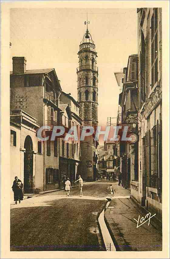 Ansichtskarte AK Les Pyrenees Du Tourmalet a Bagneres de Bigorre station thermale La tour des Jacobins(XV siecle) 0