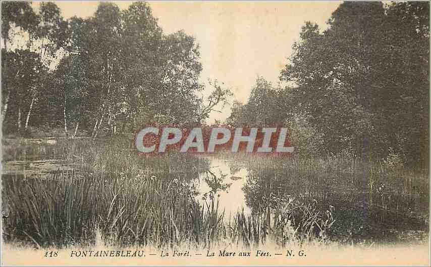 Ansichtskarte AK Fontainebleau La Foret la Mare aux Fees 0