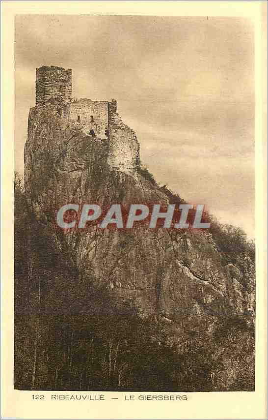 Ansichtskarte AK Ribeauville Le Giersberg 0