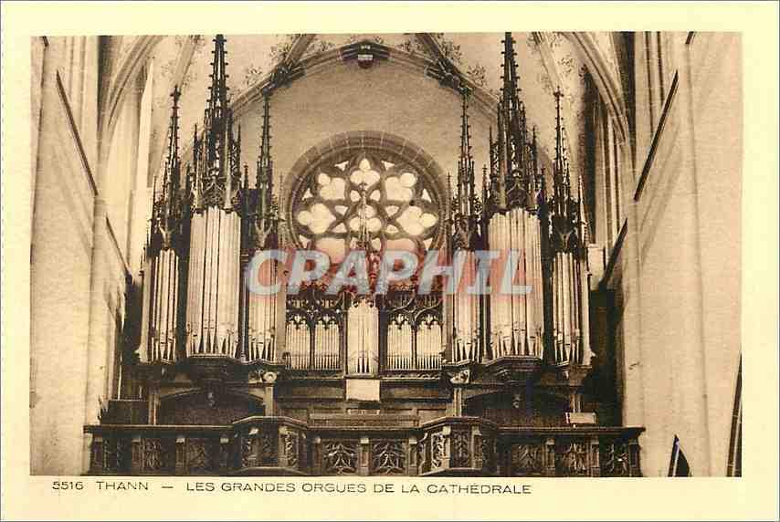Ansichtskarte AK Thann Les Grandes Orgues de la Cathedrale Orgue 0